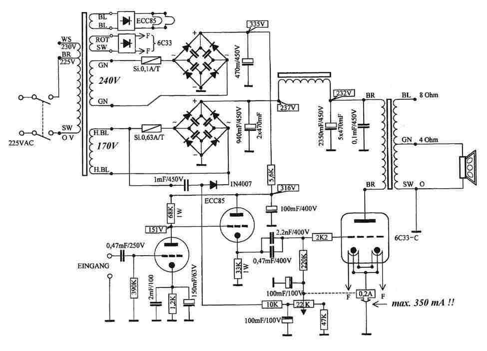 6C33C as well Sv811 3 furthermore Vintage mcintosh mc240 together with Studio further 100 150w Super Hybrid Low Thd Power  lifiers Using S  4048. on amplifier schematic